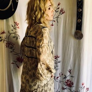 Vintage inspired maxi dress